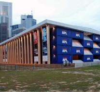 Pawilony biurowe-marzenia stukniętego futurysty.